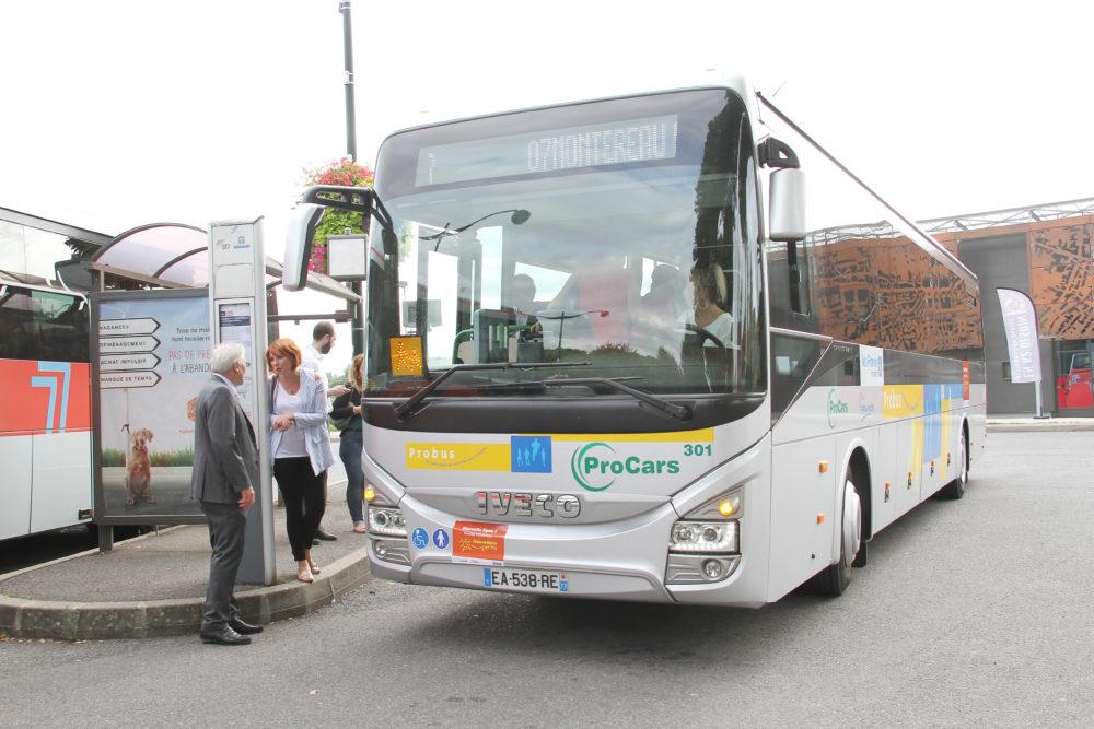 La ligne de bus 7 Provins-Montereau est ouverte