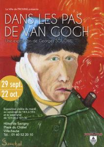 Dans les pas de Van Gogh @ Provins