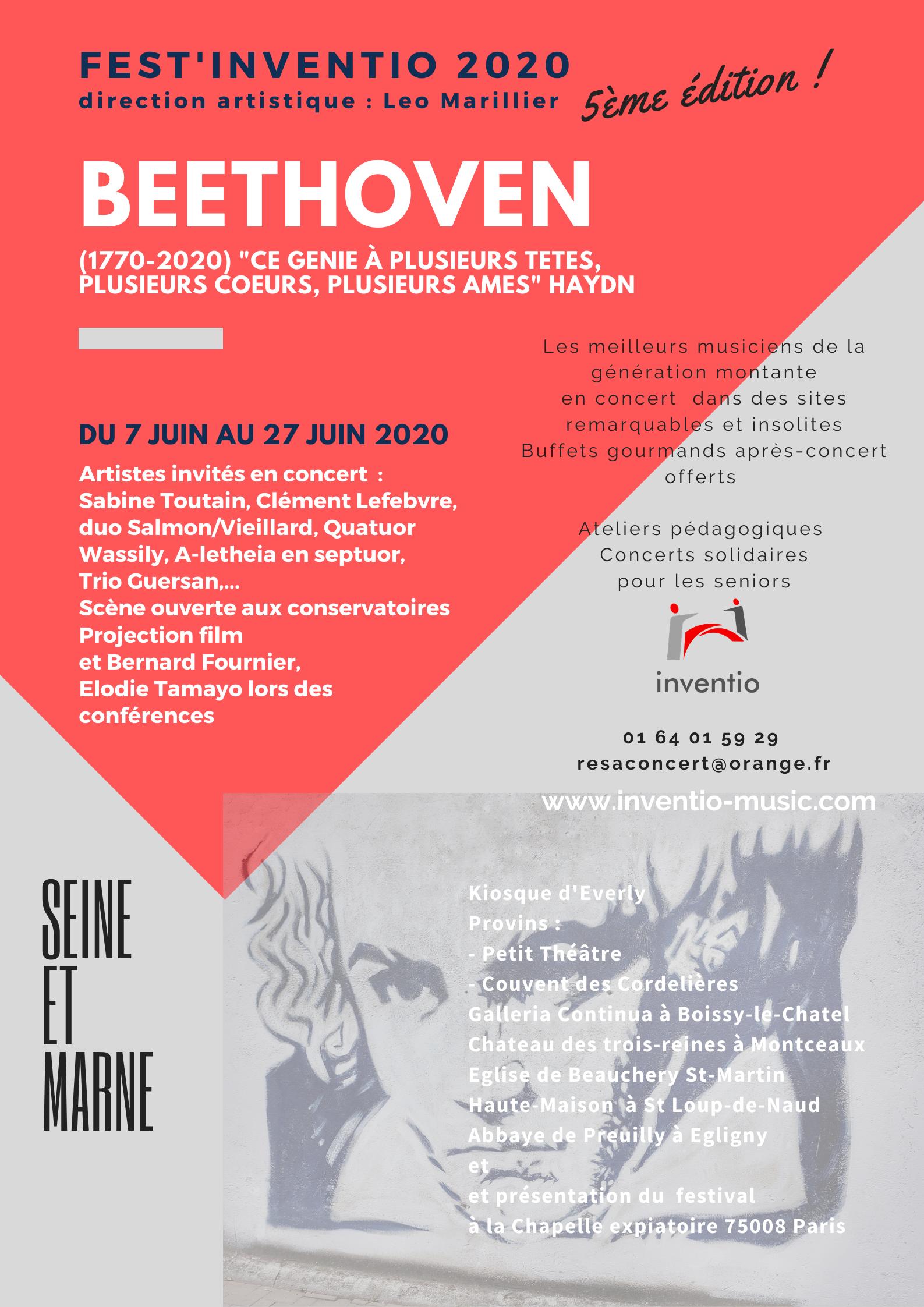FEST'INVENTIO CINÉMA PROVINS @ Petit Théâtre Provins CCSSA