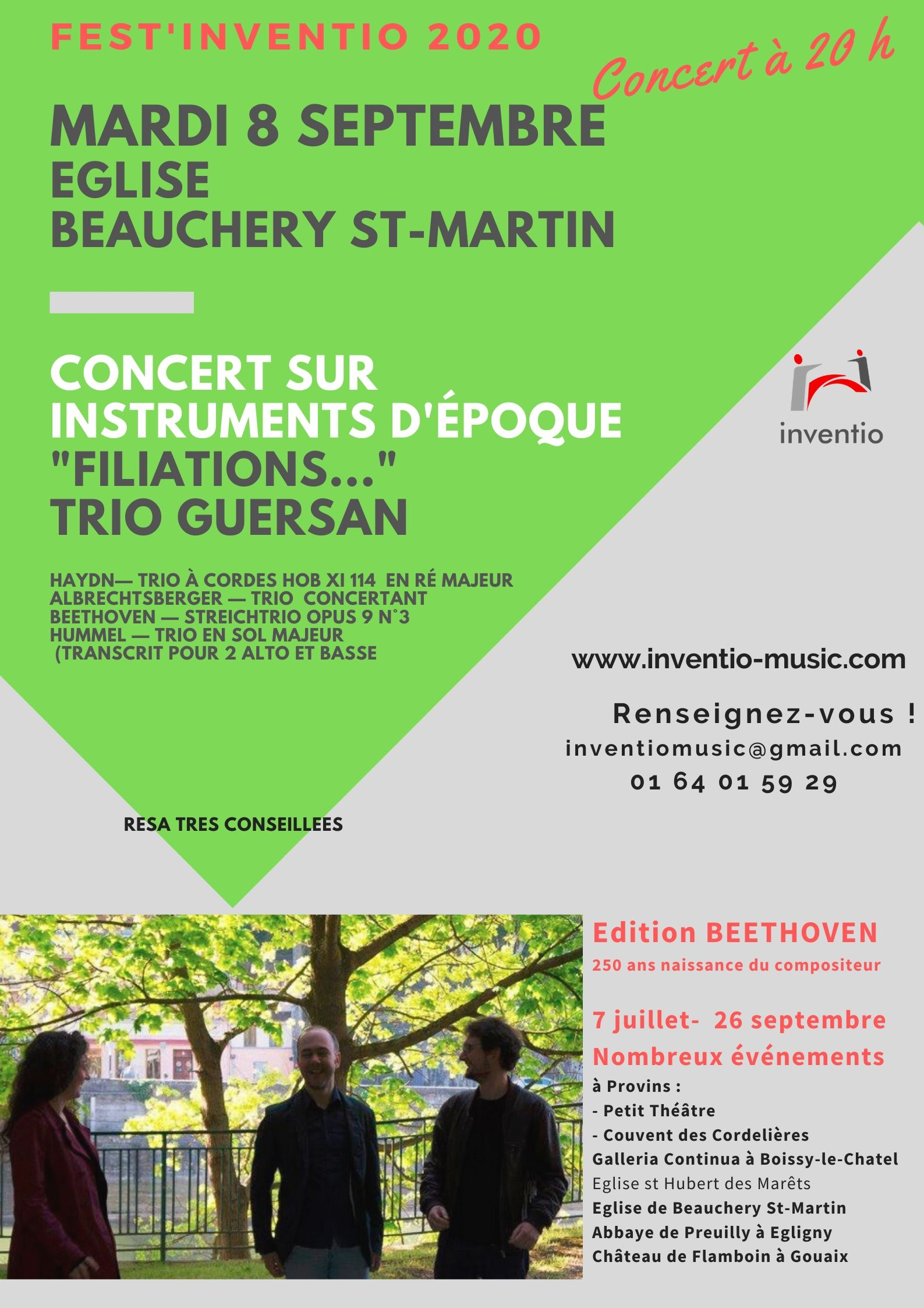 FEST'INVENTION CONCERT BEAUCHERY ST MARTIN @ Eglise de Beauchery St Martin