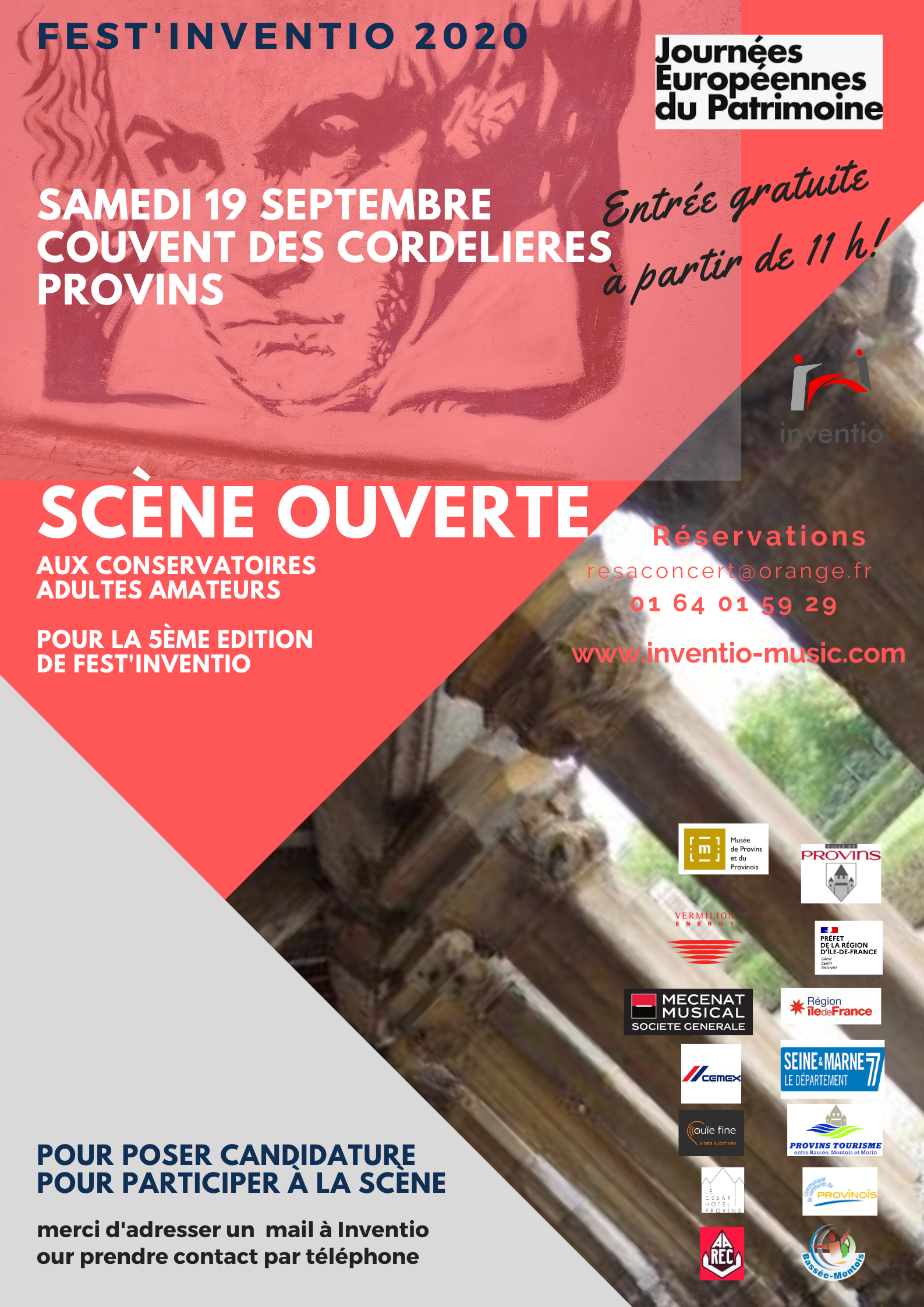 FEST'INVENTION SCENE OUVERTE @ Conservatoire de musique