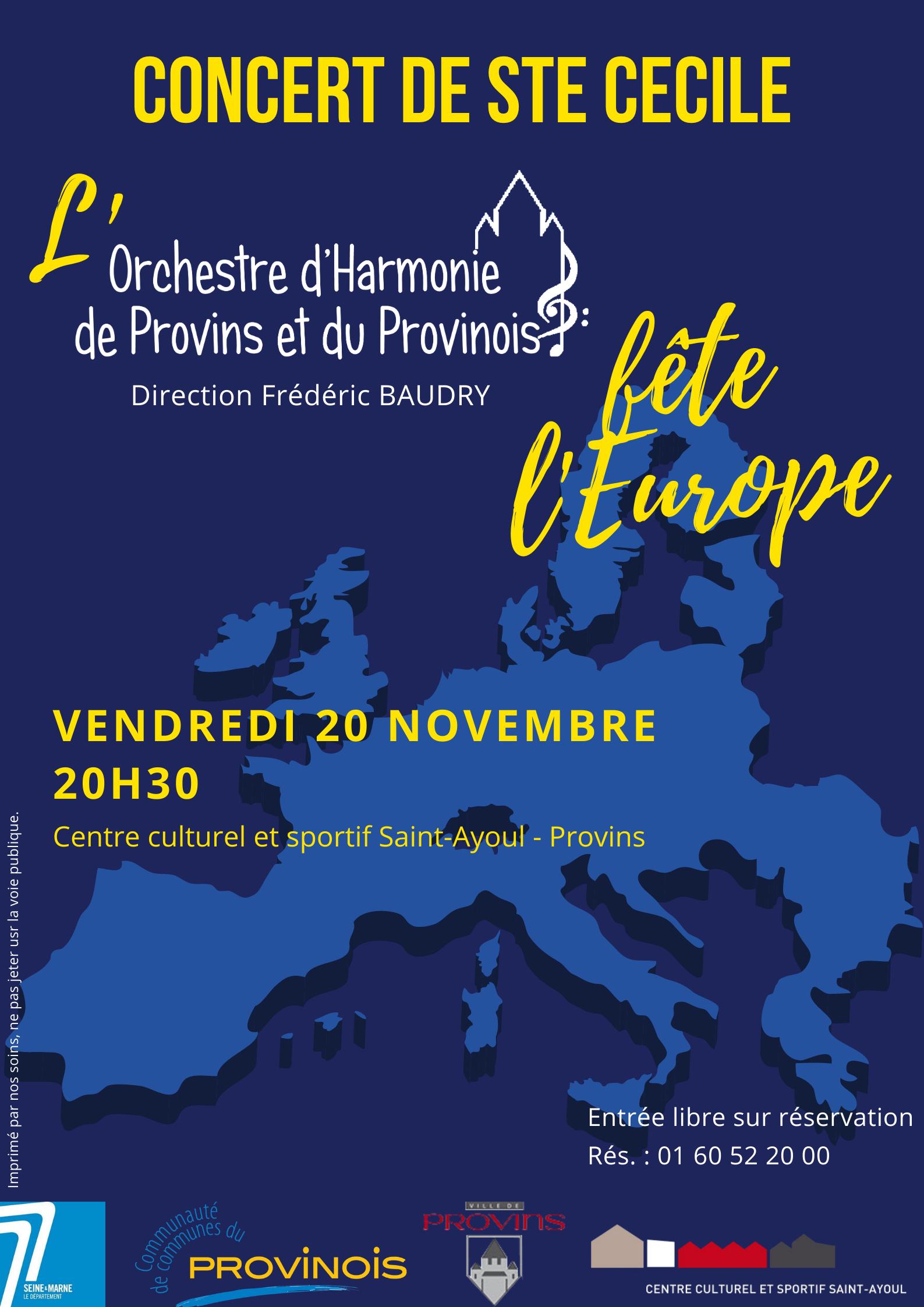 Concert de Ste Cécile @ Centre culturel et sportif Saint Ayoul