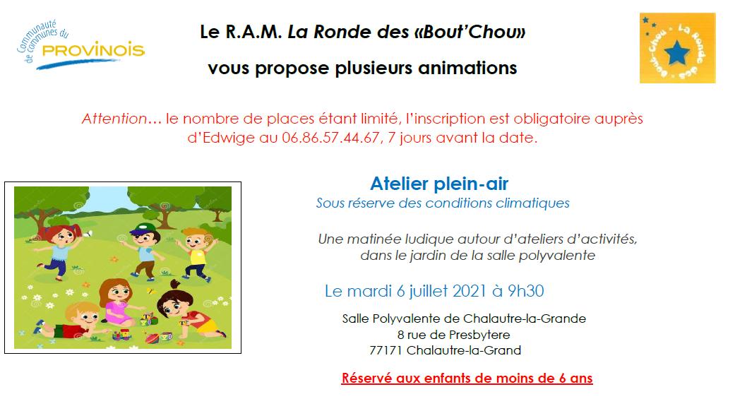 Ronde Bout'Chou - Atelier plein-air