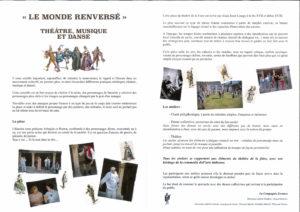 Read more about the article ERRANCE : Le Monde Renversé – Programme 2021