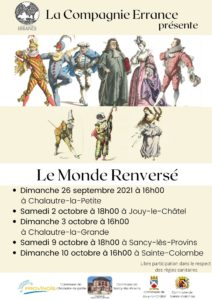 ERRANCE - LE MONDE RENVERSE @ CHALAUTRE LA GRANDE